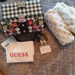 Guess Bags - Guess Britta Trunk Purse Jennifer Lopez NWT